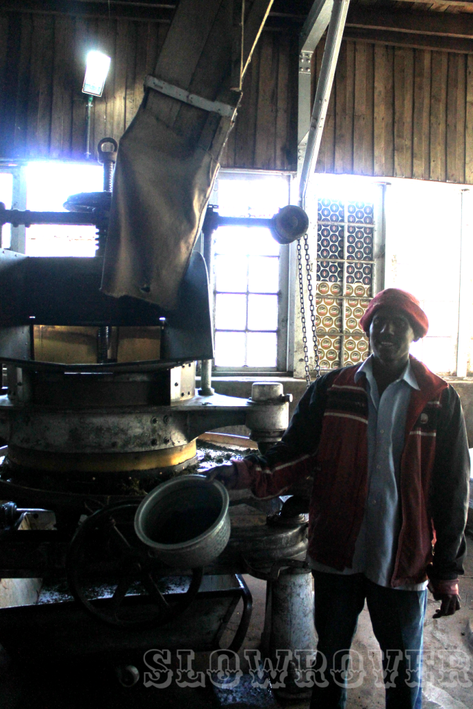 This generous man showed us around the factory and told us everything we needed to know about the process of making tea
