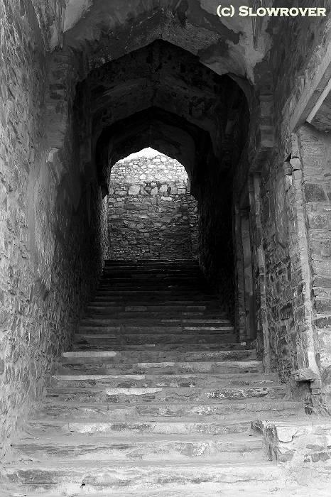 Stairway of Bhangarh