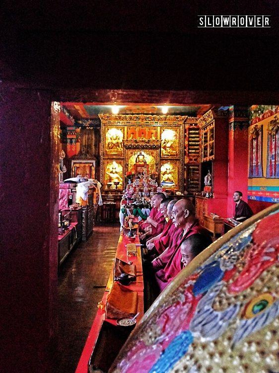 Tibetan Monks of Nepal