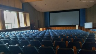 The auditorium where the sessions were conducted